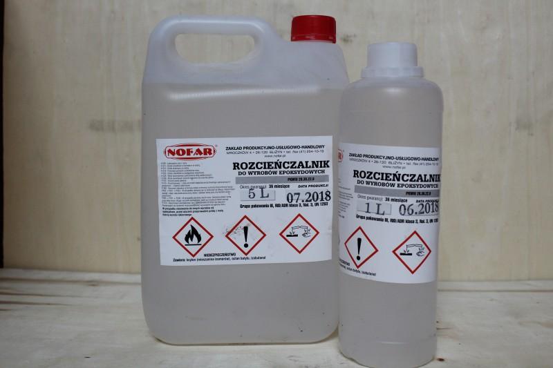Rozcieńczalnik do wyrobów nitrocelulozowych